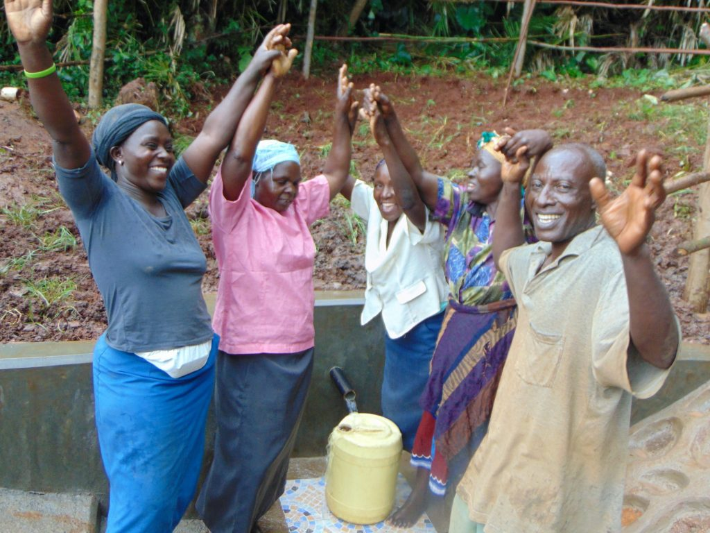 The Water Project : 39-kenya19161-celebrating-the-spring