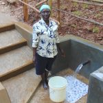 The Water Project: Bumira Community, Madegwa Spring -  Standing Proud With The Spring