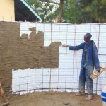 The Water Project: Kakamega Muslim Primary School -  Cementing Inside The Tank