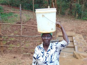 The Water Project:  Ready To Head Home With Clean Spring Water