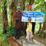 The Water Project: Masuveni Community, Masuveni Spring -  Proud New Sanitation Platform Owners