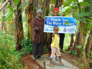 The Water Project:  Proud New Sanitation Platform Owners