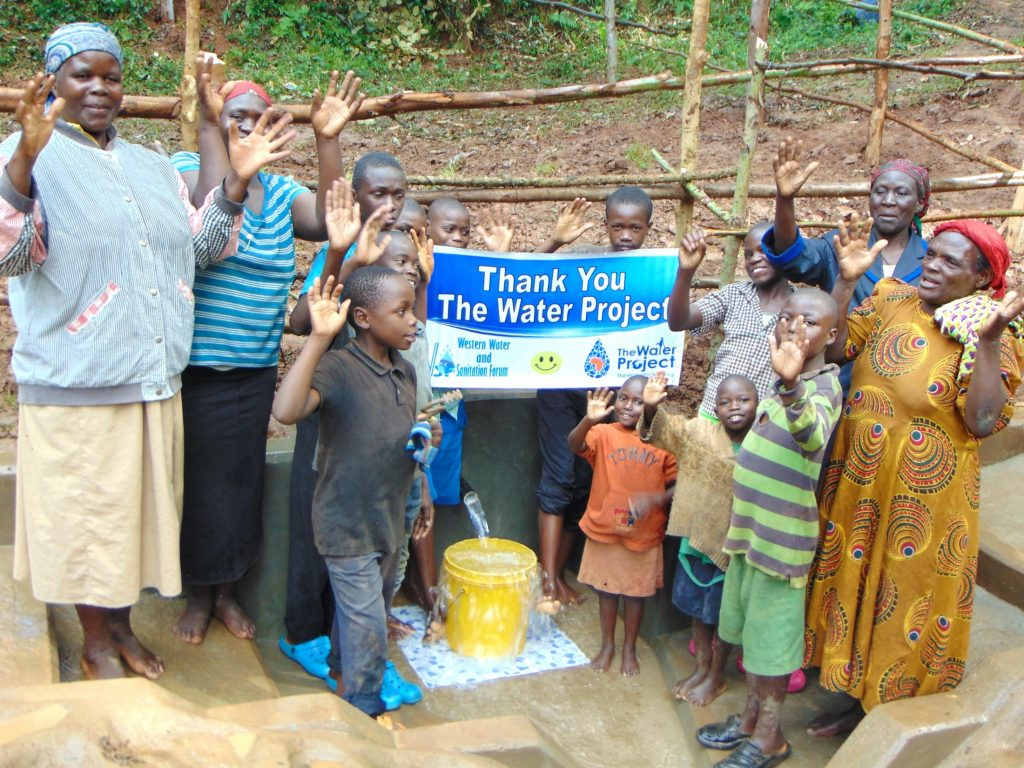 The Water Project : 41-kenya19165-thank-you