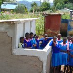 The Water Project: Banja Primary School -  Girls With Their New Latrines