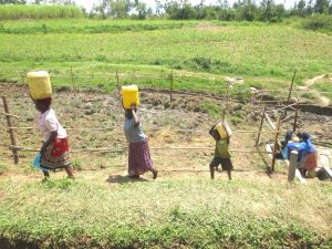 The Water Project:  Heading Home With Clean Spring Water