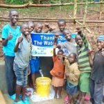 The Water Project: Bumira Community, Madegwa Spring -  Vote Of Thanks From The Kids
