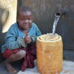 The Water Project: Emulembo Community, Gideon Spring -  All Ages Appreciate Clean Water