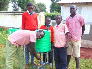 The Water Project:  Boys At A Handwashing Station