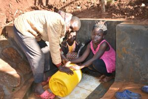 The Water Project:  Rinsing Container Before Using It