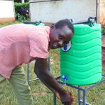 The Water Project: Kakamega Muslim Primary School -  Handwashing