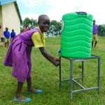 The Water Project: Kapkures Primary School -  Smiles Washing Hands