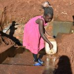 The Water Project: Emulembo Community, Gideon Spring -  Responsible Chairpersons Daughter Already Taking Good Care Of Gideon Spring