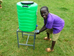 The Water Project:  Smiles Washing Hands