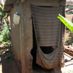 The Water Project: Shikhombero Community, Atondola Spring -  Latrine