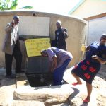 The Water Project: Kapkures Primary School -  Having Fun With Team Leader Catherine Chepkemoi