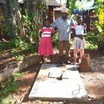 The Water Project: Emulembo Community, Gideon Spring -  Proud New Sanitation Platform Owners