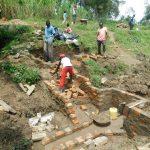 The Water Project: Sambaka Community, Sambaka Spring -  Stair Construction