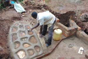 The Water Project:  Cementing The Rub Wall