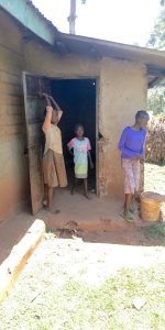 The Water Project:  Girls Stand In Front Of A Kitchen
