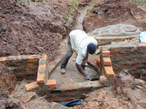 The Water Project:  Brickwork Continues
