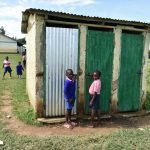 The Water Project: Eshimuli Primary School -  Boys Latrines