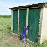 The Water Project: Eshimuli Primary School -  Girls Latrines