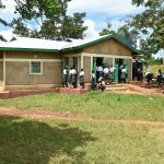 The Water Project: Makunga Secondary School -  Students Outside The Kitchen