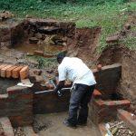 The Water Project: Bumira Community, Madegwa Spring -  Pipe Setting