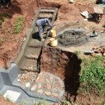 The Water Project: Emulembo Community, Gideon Spring -  Stair Construction