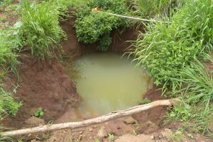 The Water Project:  Riverbed Water Hole