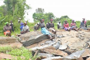 The Water Project:  Shg Members Near Project Site