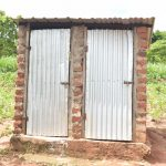 The Water Project: King'ethesyoni Community A -  Latrine