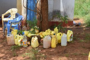 The Water Project:  Collection Of Water Storage Containers