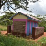 The Water Project: Kavyuni Salvation Army Primary School -  Girls Latrines