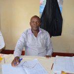 The Water Project: Kavyuni Salvation Army Primary School -  Headteacher Matthew Mbau