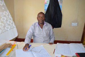 The Water Project:  Headteacher Matthew Mbau