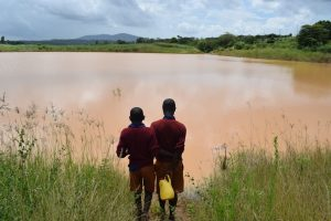 The Water Project:  Looking Out At The Open Water Source