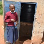 The Water Project: Kavyuni Salvation Army Primary School -  Mini Water Storage Container With Tap