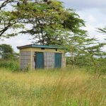 The Water Project: Kavyuni Salvation Army Primary School -  Staff Latrines