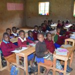 The Water Project: Kavyuni Salvation Army Primary School -  Students In Class
