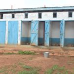 The Water Project: Tyaa Kamuthale Secondary School -  Boys Latrines