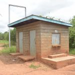 The Water Project: Tyaa Kamuthale Secondary School -  Community Borehole Kiosk Where Students Sometimes Have To Fetch Water