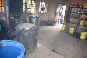 The Water Project:  Inside School Kitchen