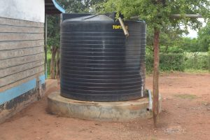 The Water Project:  Small Water Storage Tank