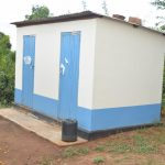 The Water Project: Tyaa Kamuthale Secondary School -  Staff Latrines