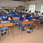 The Water Project: Tyaa Kamuthale Secondary School -  Students In Class
