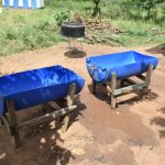 The Water Project: Kaketi Secondary School -  Drinking Water Storage Containers