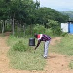 The Water Project: Kaketi Secondary School -  Handwashing Station