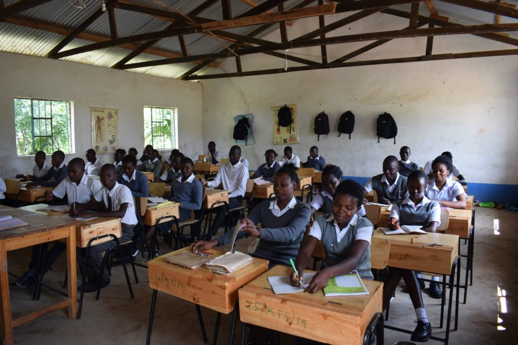 The Water Project : kenya20354-students-in-class