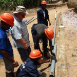 The Water Project: Mathem Community -  Laying Pipes